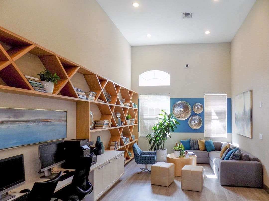 Clubhouse Social Area At Apartments For Rent In Pembroke Pines