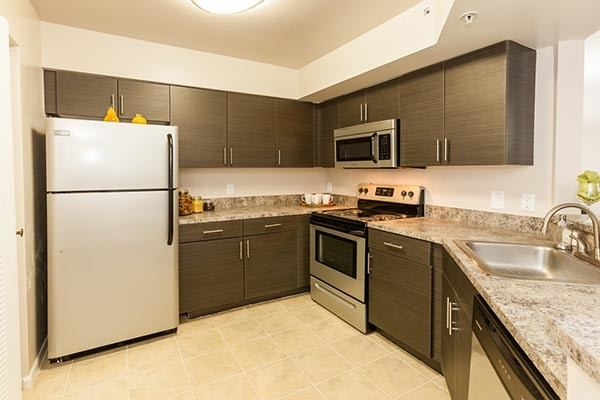 Kitchen At Apartments In Pembroke Pines