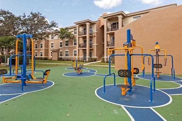 Playground At Apartments In Pembroke Pines