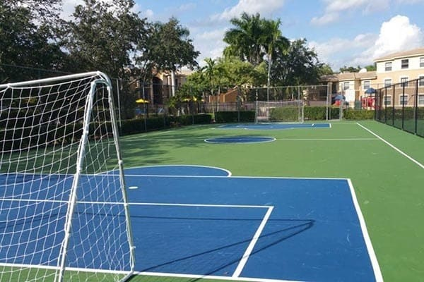 Soccer At Apartments In Pembroke Pines