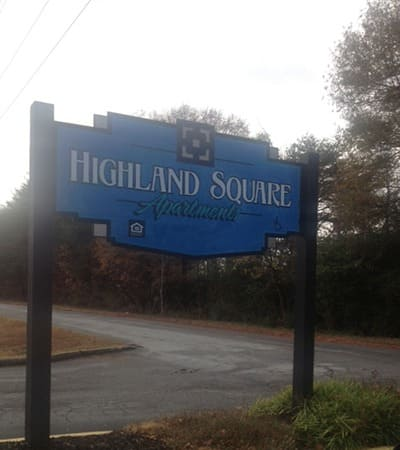 Come home to comfort at Highland Square in Greenville.