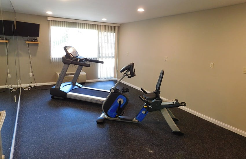 Get and stay fit in our fitness center at Siena Village.