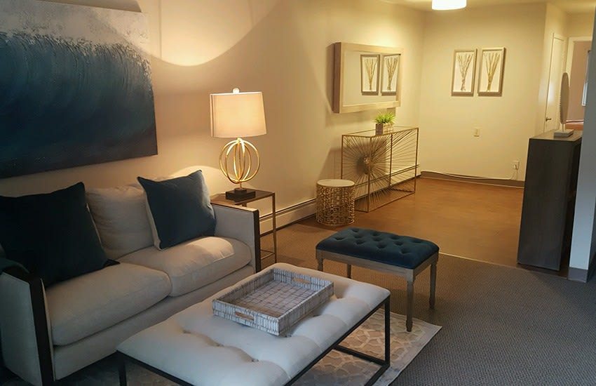 The living spaces at Siena Village are well appointed and comfortable.