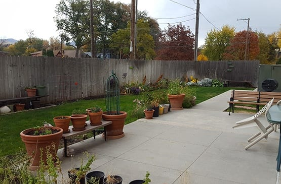 The community garden at Bannock Arms is a popular project with our residents!