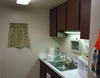 You'll love cooking for friends and family in your new apartment's kitchen at Bannock Arms.