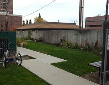 Our residents love our on-site community garden here at Bannock Arms in Boise.
