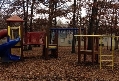 Playground at Charter Village Apartments in Madison