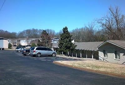 Plenty of parking for residents and guests at Charter Village Apartments in Madison