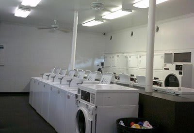 Doing the wash is easy at Charter Village Apartments with our on-site laundry facility!