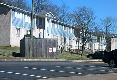 Charter Village Apartments keeps the property clean and tidy