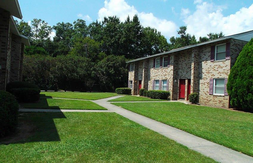 Common areas at Orangeburg Manor are well-kept