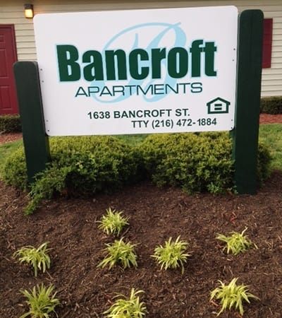 The apartment amenities at Bancroft Apartments in Dayton include appliances, free utilities, and more.