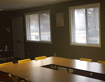 Community room at Market North Apartments to meet your new neighbors