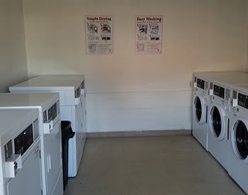 On-site laundry facility at Riverview Bend Apartments