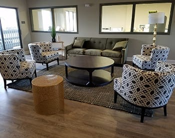 Beautiful common areas at Maryel Manor Apartments in Broomfield.