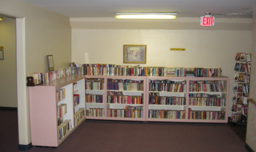Library At Our Apartments In Memphis