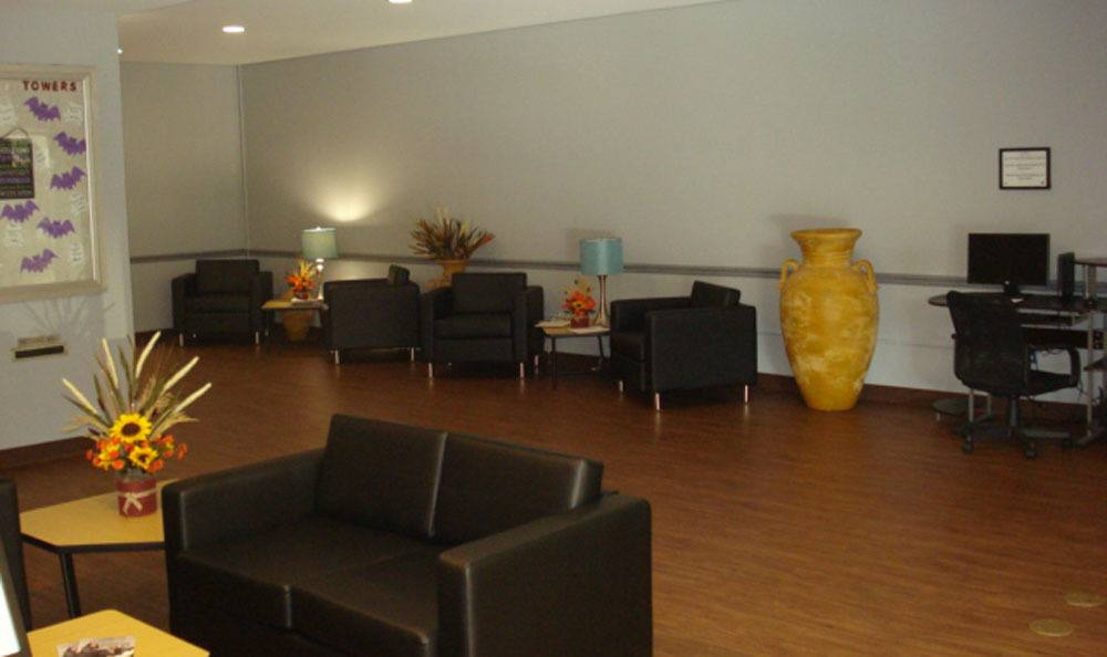Lobby At Our Apartments In Memphis