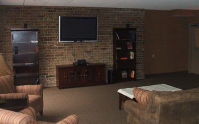 Entertainment Room At Our Datyon Senior Apartments Community