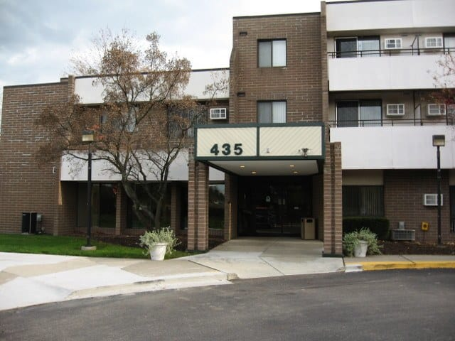 Front Of Our Rochester Hills Senior Apartments
