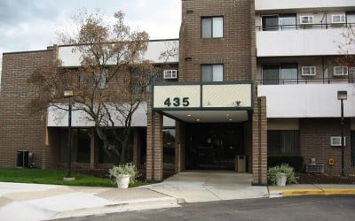 Front Of Our Rochester Hills Senior Apartments Community
