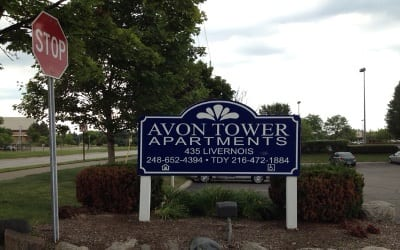 Sign At Our Rochester Hills Senior Apartments Community