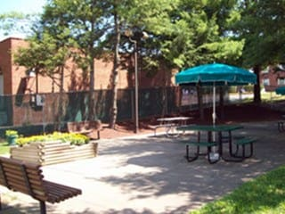 Patio At Our Pittsburgh Senior Apartments