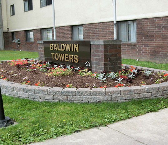 Baldwin Towers neighborhood