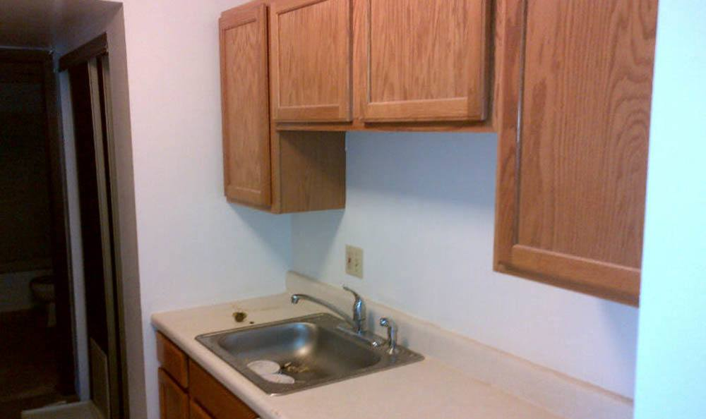 Kitchen at Fox Hill Apartments