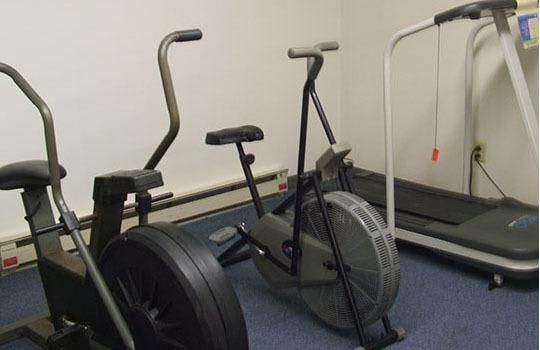 Fitness room at Mad River