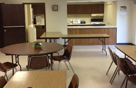 Harding House community room