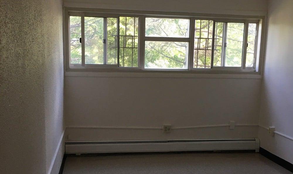 Bedroom space at Rip Van Winkle in Poughkeepsie, Poughkeepsie