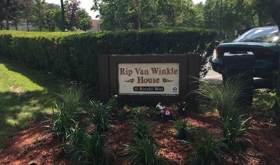 Sign At Rip Van Winkle