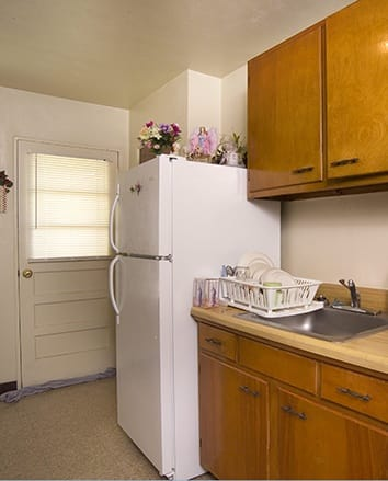 Kitchen at Terrace Ridge Apartments