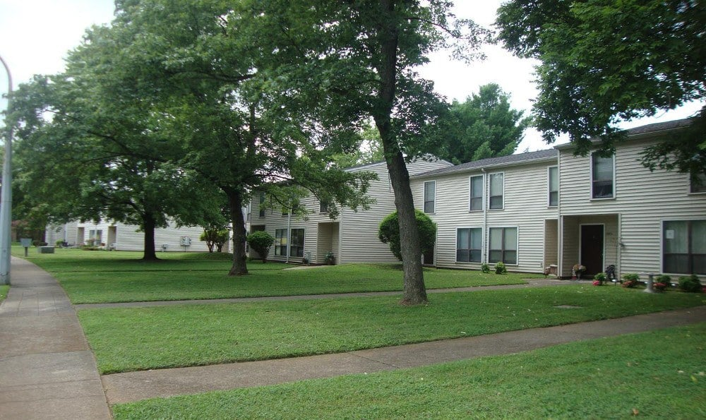 Exterior view of our Apartments In Murfreesboro