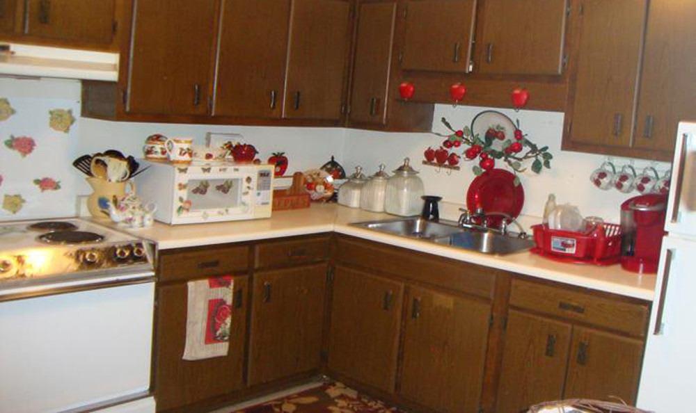 Example kitchen at Midtown Estates