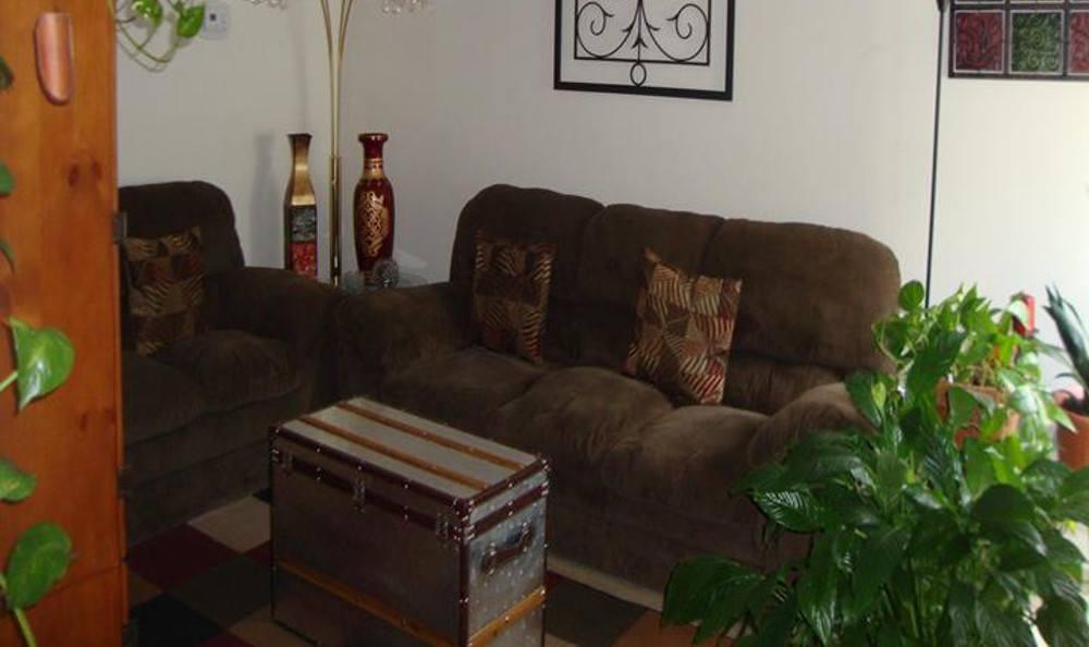 Midtown Estates Living room.