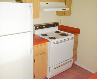 Kitchen at apartments in Phoenix