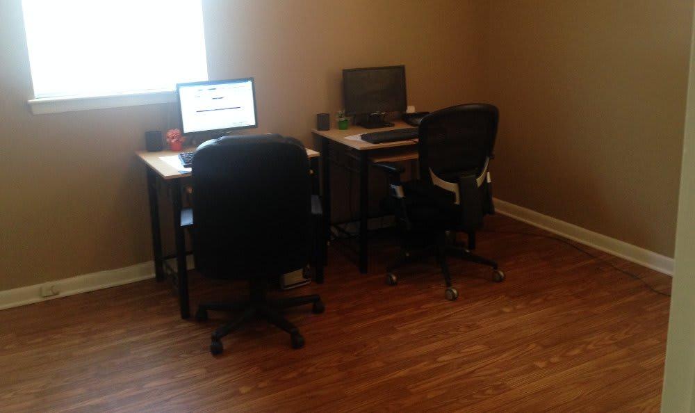 Computer lab at Hoffman Homes