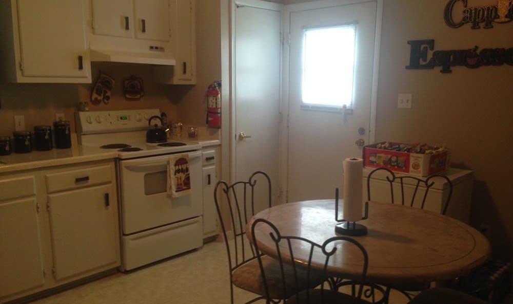 Kitchen at Hoffman Homes