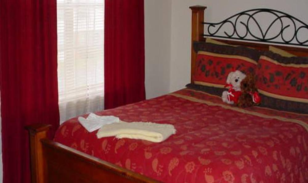 Bedroom at Fairview Gardens