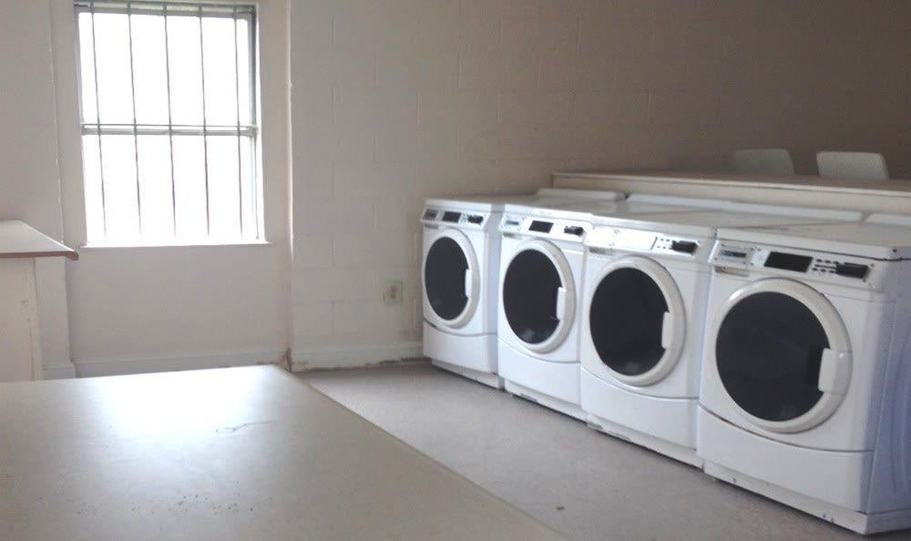 Laundry facility at Fairview Gardens