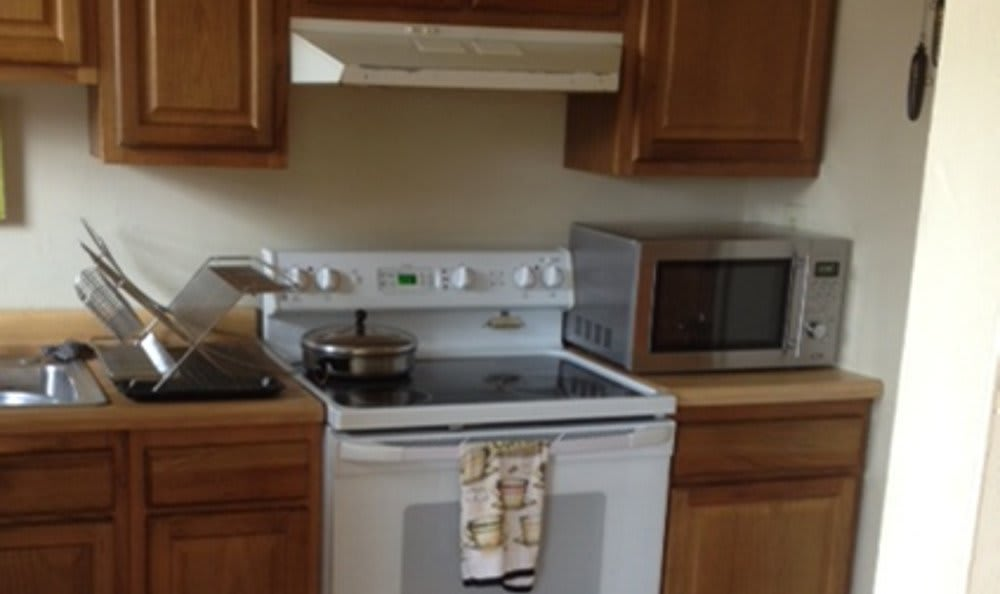 Kitchen at Darby Townhomes