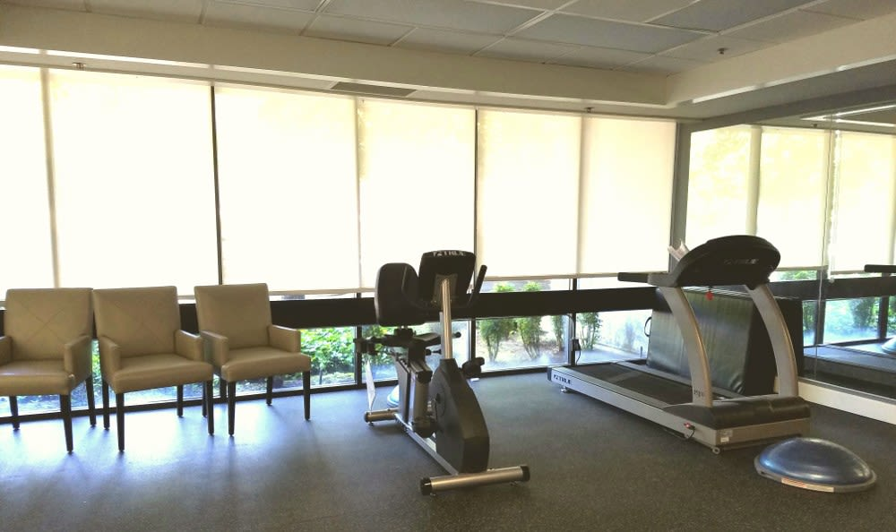 Fitness Center at St. Francis Manor in CA