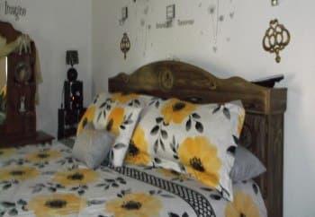 Bedroom at Meadow Run Apartments in Anderson