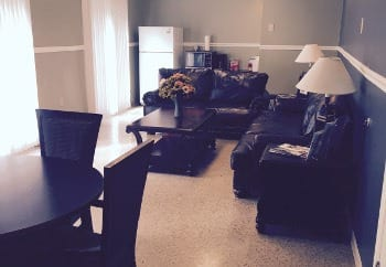 Community room in Eagle Ridge in Dayton, OH