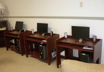 Computer lab at Eagle Ridge in Dayton, OH