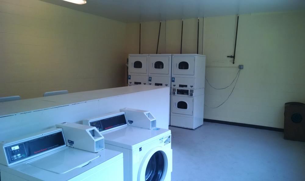 Easily accessible laundry room at Eagle Ridge in Dayton, OH
