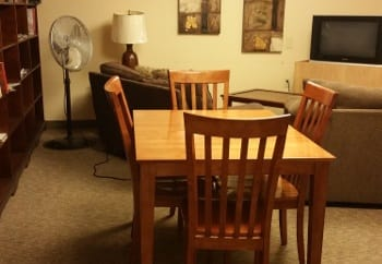 Dinning room table at Meadowlark in Trotwood,OH