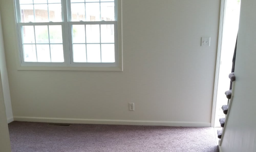 Living room at Meadowlark in Trotwood, OH