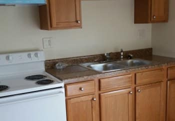 Model Kitchen at Meadowlark in Trotwood,OH